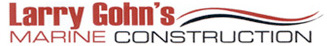 Larry Gohn's Marine Construction Logo